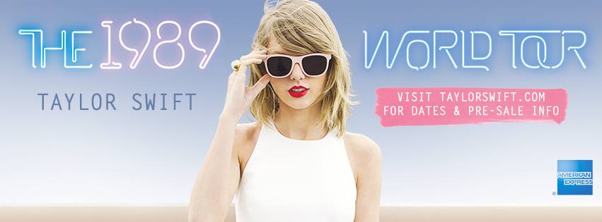 Taylor Swift Announces 1989 World Tour Starting On May 2015 Justrandomthings