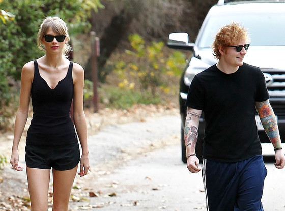 taylor swift and ed sheeran taking breaks from music