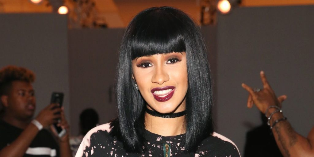 Cardi B Gets Her Teeth Fixed Shows Off To The World