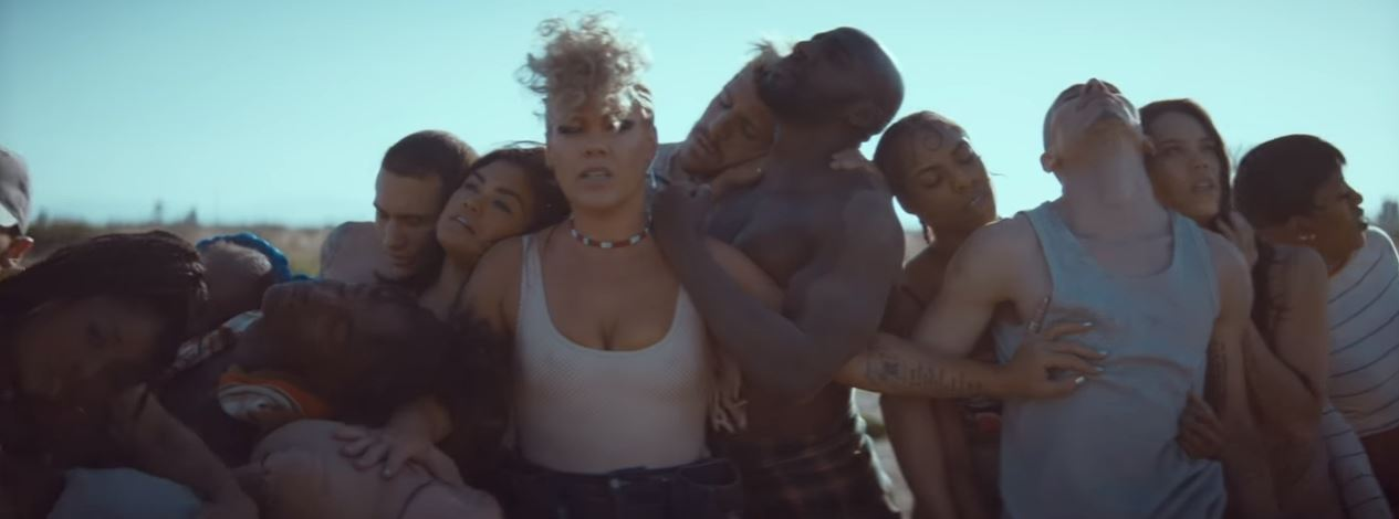 pink P!nk what about us new single music video lyrics review