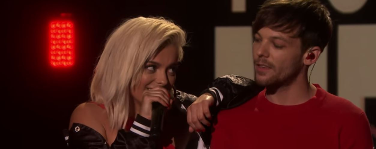 louis tomlinson bebe rexha back to you live