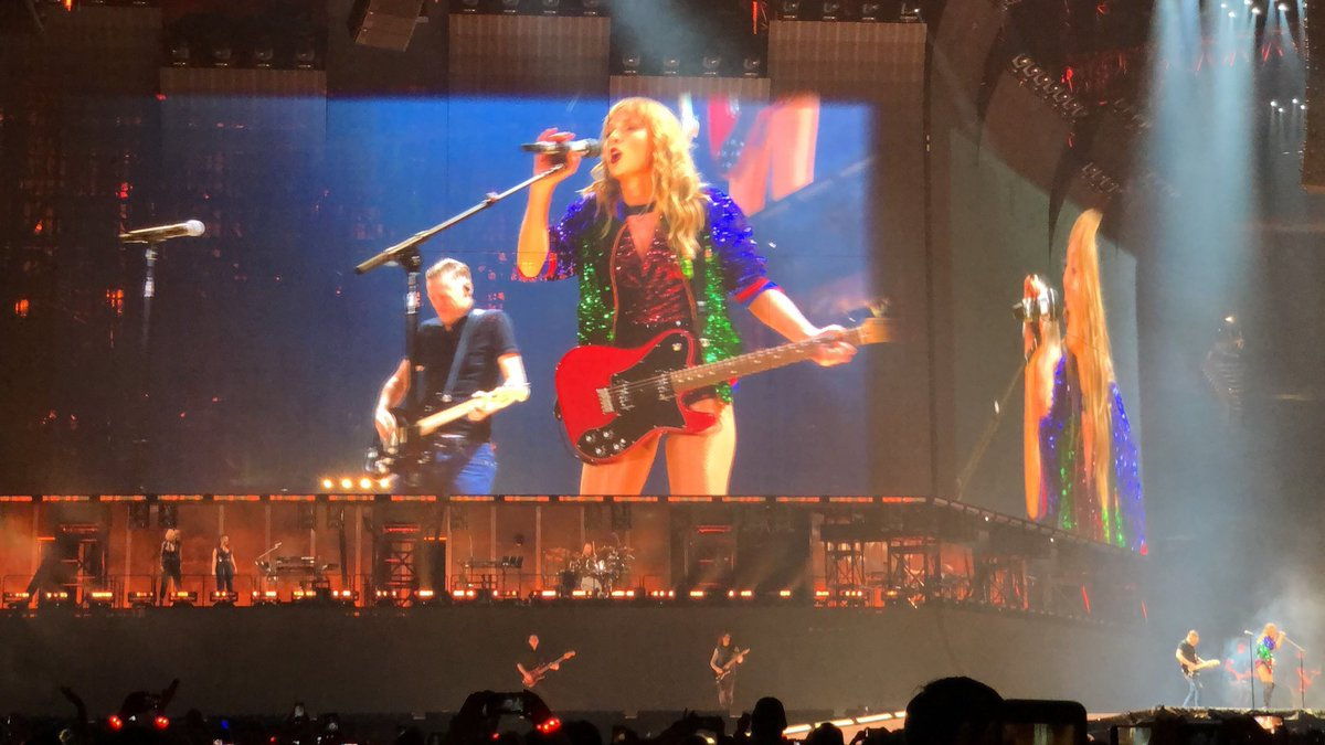 taylor swift summer of '69 bryan adams reputation tour