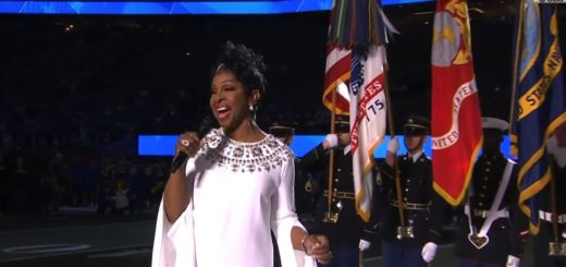 gladys knight super bowl liii 2019 national anthem